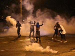 Ferguson Erupts Again as Protests Turn to Violence