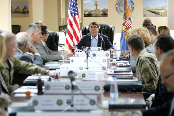 DOD Chief Ashton Carter Travels To Middle East