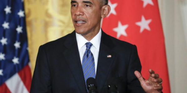 Obama says Trump will get classified briefings, but must protect secrets