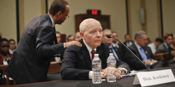 IRS Commissioner Avoids Questions on Trump's Taxes