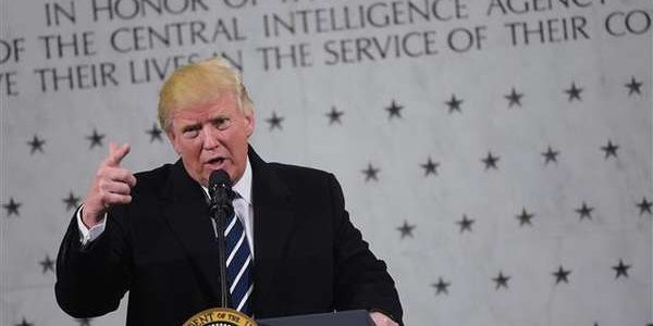 "Intel officials say Trump's CIA visit was ""uncomfortable"""