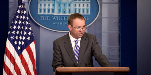 Defending Cuts, Mulvaney Misleads on Food Stamps and Big Bird
