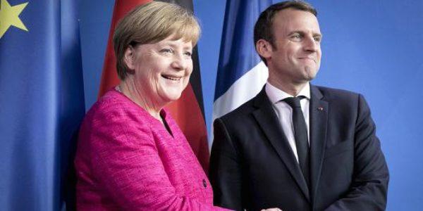 Merkel open to creating eurozone budget