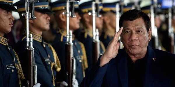 Martial law extended on Philippine island