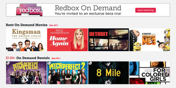 Redbox returns to internet video with On Demand service